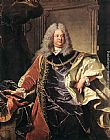 Hyacinthe Rigaud Portait of Count Sinzendorf painting