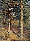 Ivan Shishkin The Sun-lit Pines painting