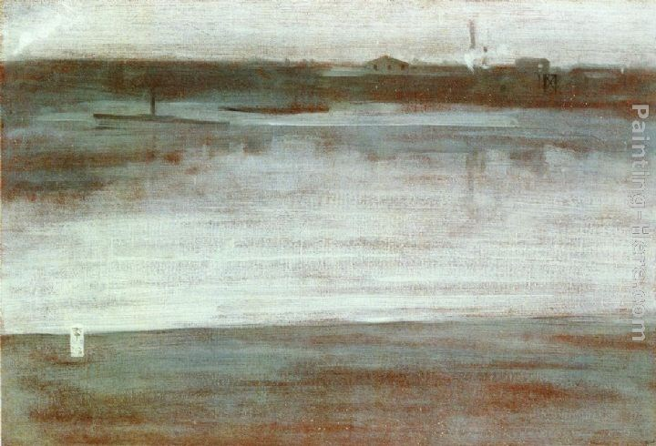 James Abbott McNeill Whistler Symphony in Grey Early Morning, Thames