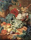 Jan Van Huysum Fruit Still-Life painting