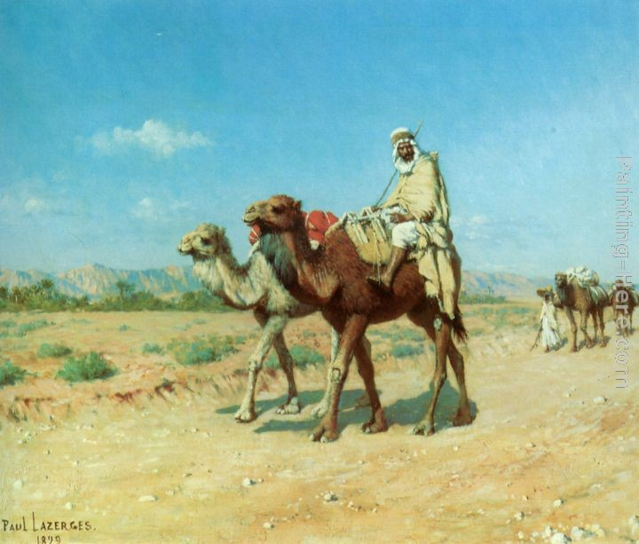 Jean Baptiste Paul Lazerges In the Desert
