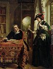 John Callcott Horsley The Poets Theme painting