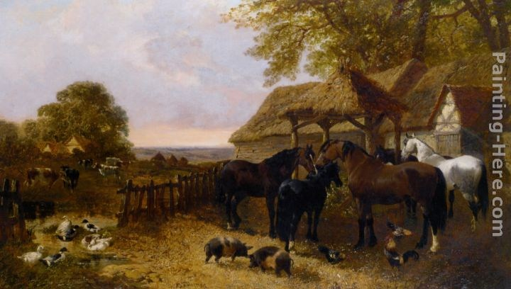 John Frederick Herring, Jnr The Stable Yard