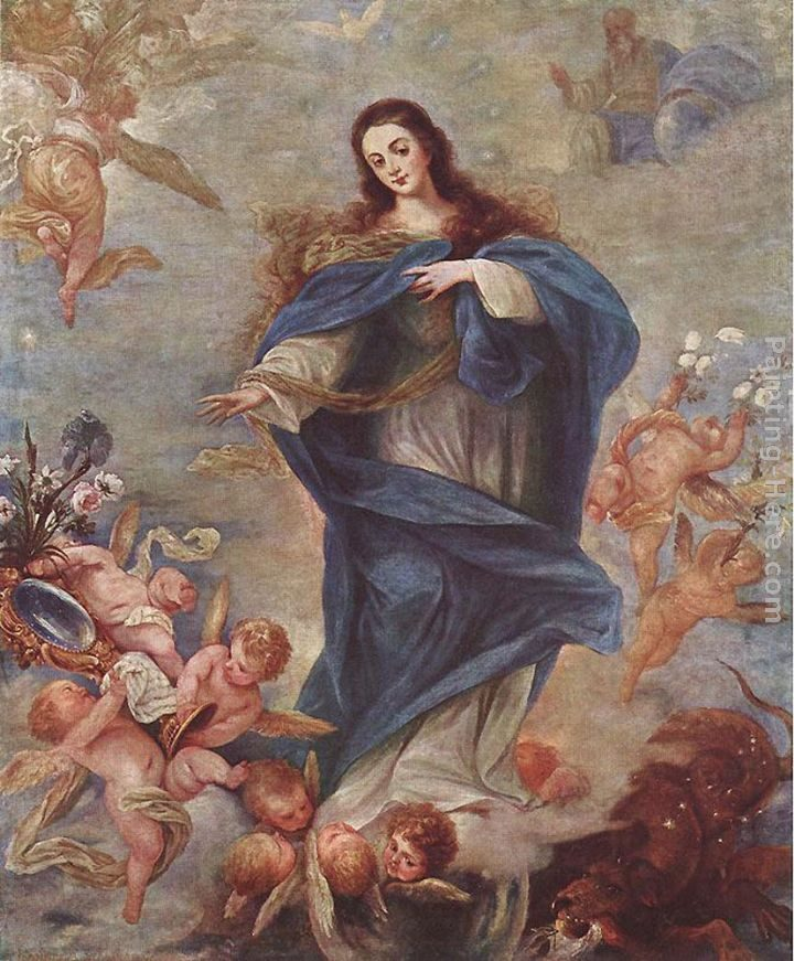 Juan Antonio Frias y Escalante Immaculate Conception