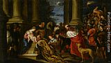 Juan Antonio Frias y Escalante The Adoration of the Magi painting