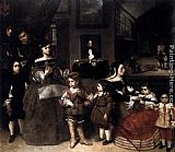 Juan Bautista Martinez del Mazo The Artist's Family painting