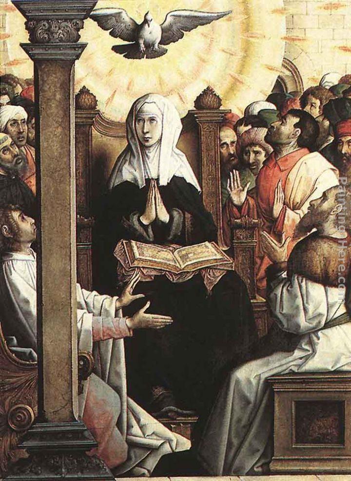 Juan De Flandes Pentecost Painting Best Paintings For Sale