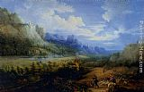 Lucas Van Uden Landscape With Herdsmen And Their Sheep painting