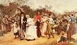 Luke Fildes The Wedding painting