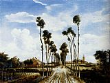 Meindert Hobbema The Road To Middelharnis painting
