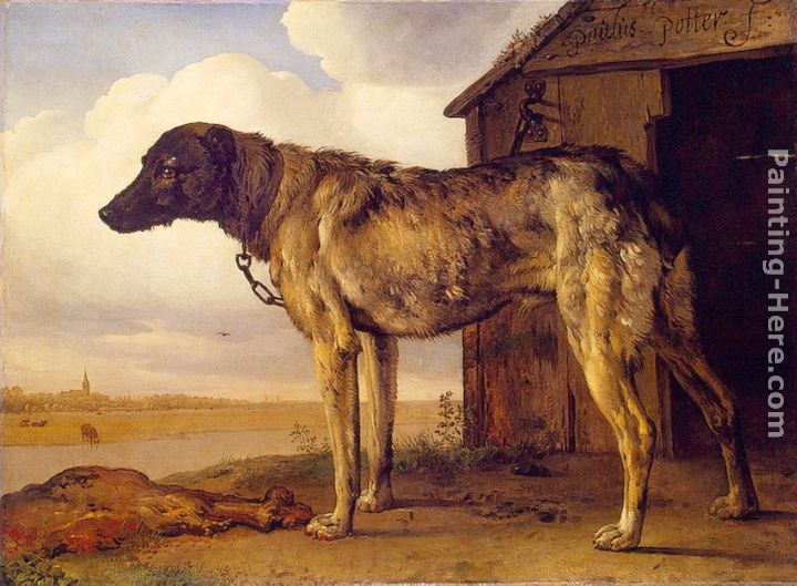 Paulus Potter The Wolf-Hound