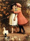 Philip Richard Morris The Foster Sisters painting