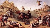 Piero di Cosimo Perseus Frees Andromeda painting