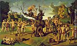 Piero di Cosimo The Discovery of Honey painting