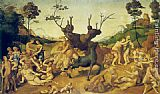 Piero di Cosimo The Misfortunes of Silenus painting
