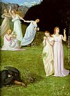 Pierre Cecile Puvis de Chavannes Death and the Maiden painting