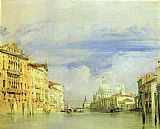 Richard Parkes Bonington Venice. The Grand Canal. painting