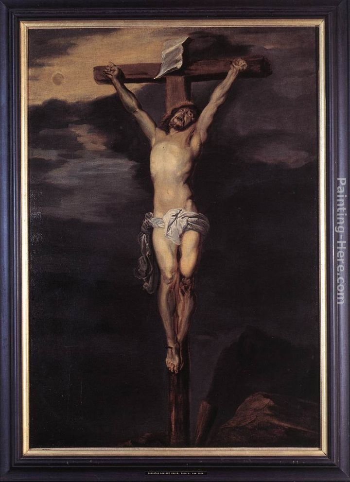 Sir Antony van Dyck Christ on the Cross