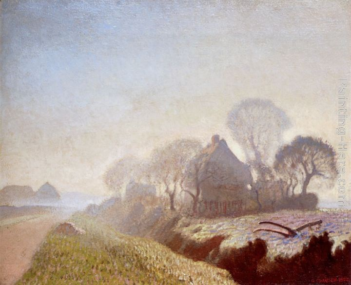 Sir George Clausen Morning In November