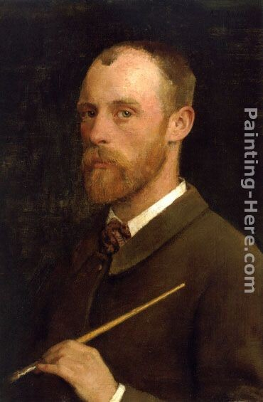 Sir George Clausen Portrait of the Artist