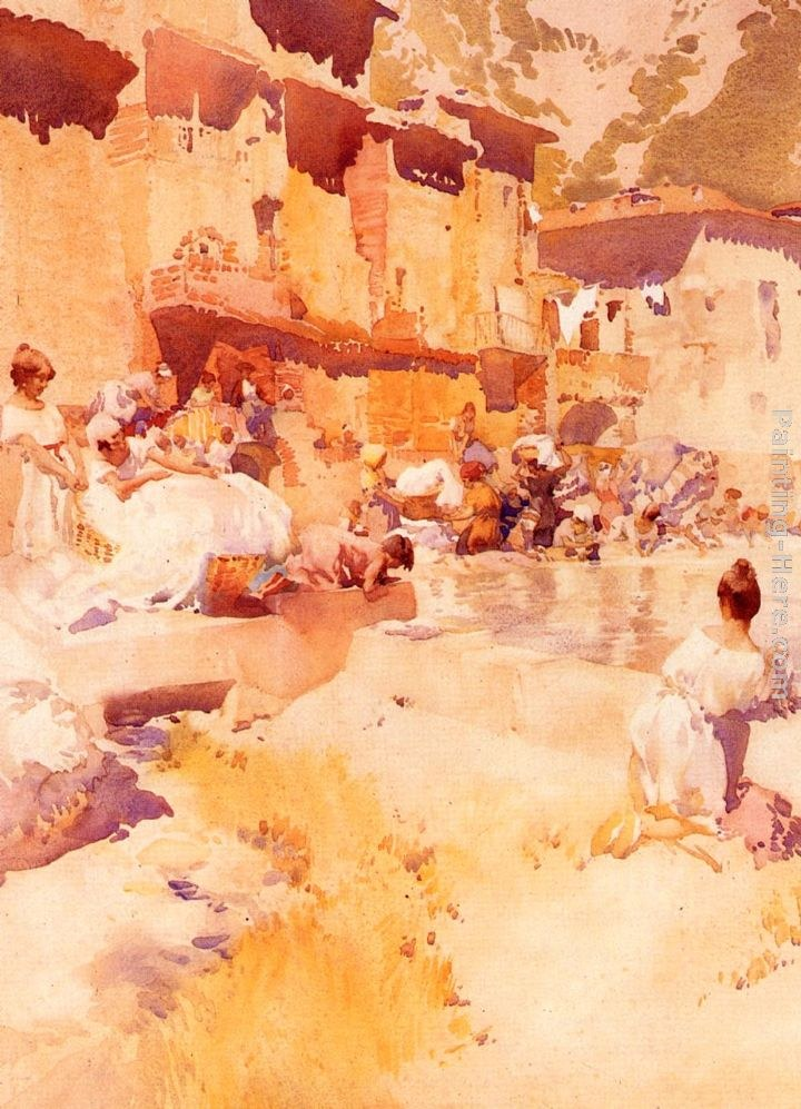 Sir William Russell Flint Violet Shades