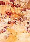 Sir William Russell Flint Violet Shades painting