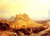 Thomas Ender The Acropolis, Athens painting