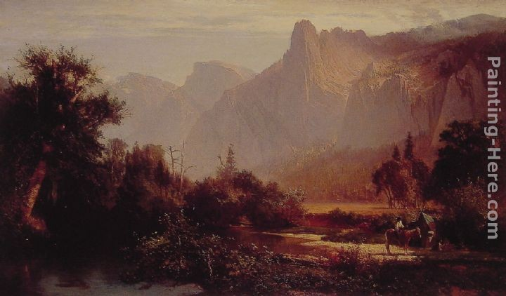 Thomas Hill Yosemite Valley