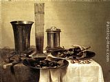 Willem Claesz Heda Breakfast Still-Life painting