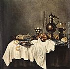Willem Claesz Heda Breakfast of Crab painting