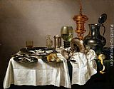 Willem Claesz Heda Still Life with a Gilt Goblet painting