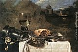 Willem Claesz Heda Still-Life with Olives painting