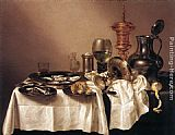 Willem Claesz Heda Still-life with Gilt Goblet painting