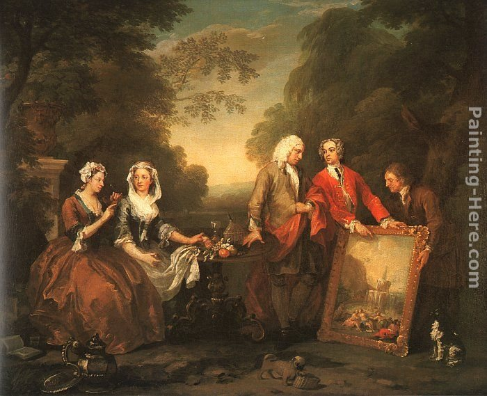 William hogarth the fountaine family painting best for William hogarth was noted for painting
