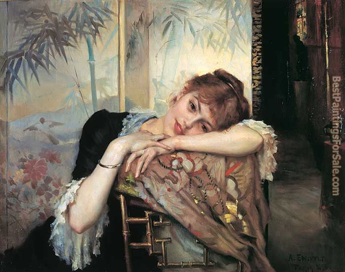 Albert Edelfelt Paintings for sale