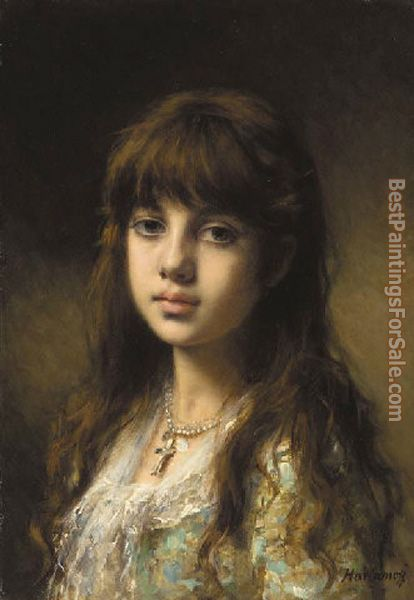 Alexei Alexeivich Harlamoff Paintings for sale