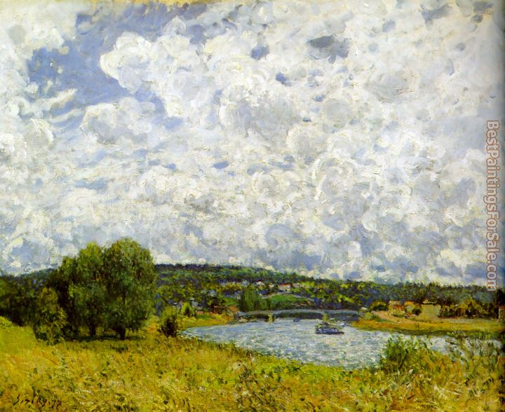 Alfred Sisley Paintings for sale