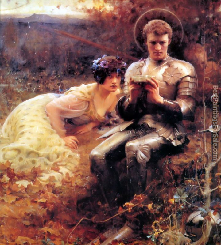 Arthur Hacker Paintings for sale