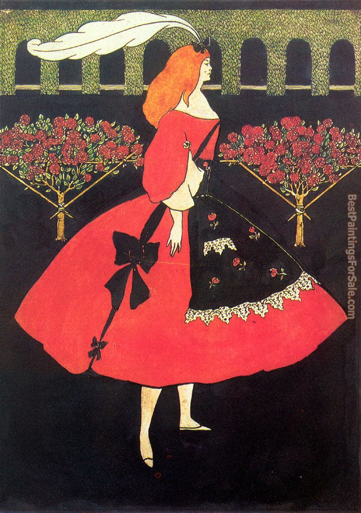 Aubrey Beardsley Paintings for sale
