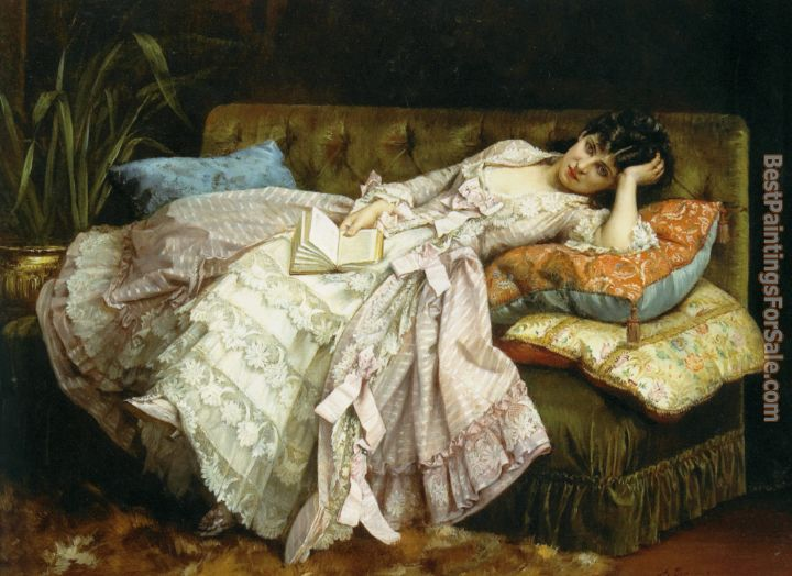 Auguste Toulmouche Paintings for sale