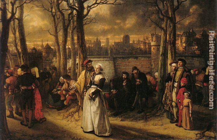 Baron Jan August Hendrik Leys Paintings for sale