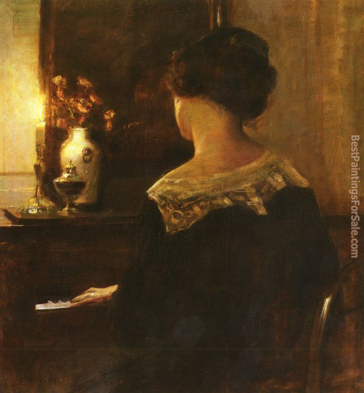 Carl Vilhelm Holsoe Paintings for sale