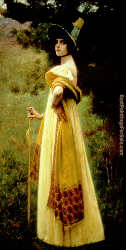 Charles Sprague Pearce Paintings for sale