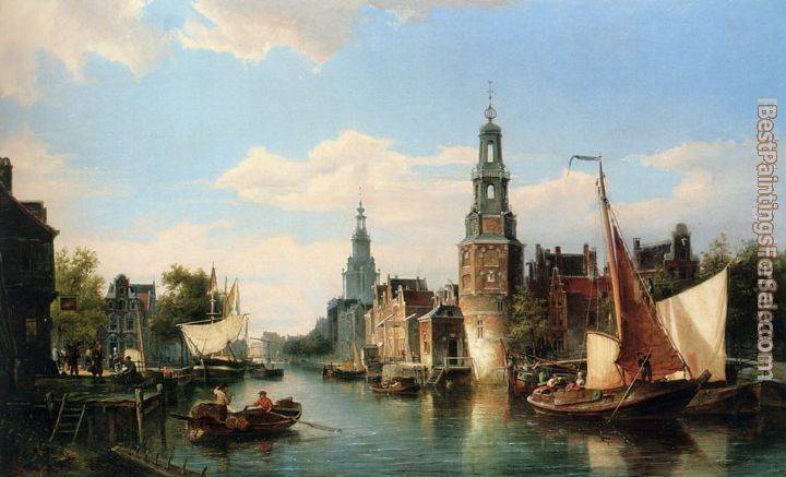 Cornelis Christiaan Dommelshuizen Paintings for sale