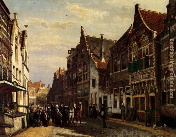 Cornelis Springer Paintings for sale
