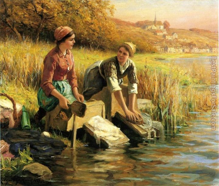 Daniel Ridgway Knight Paintings for sale
