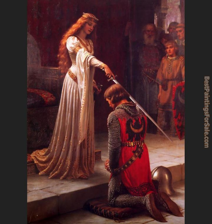 Edmund Blair Leighton Paintings for sale