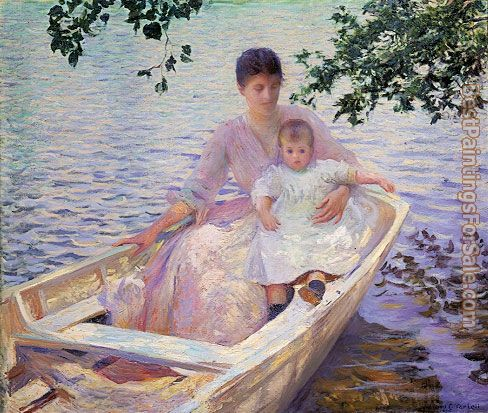 Edmund Charles Tarbell Paintings for sale