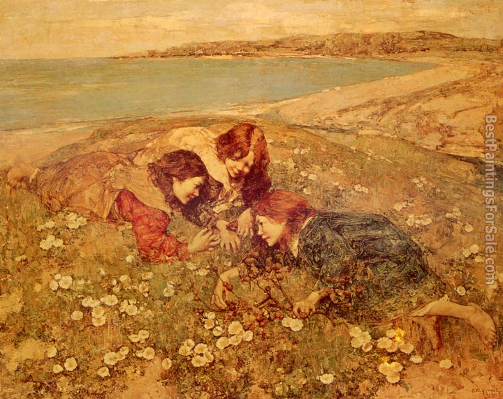 Edward Atkinson Hornel Paintings for sale