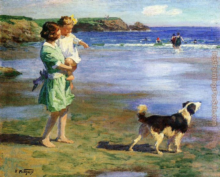 Edward Henry Potthast Paintings for sale